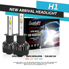 Modifygt 3 color changing 5 modes H4 led H7 H8/H9/H11 9005 9006 Headlight 3000K 4300K 6000K 50W 12V 8000Lm