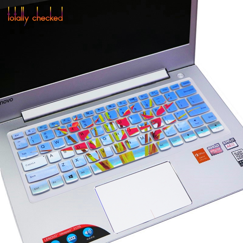 Silicone Laptop Keyboard Cover Protector for Lenovo Yoga 530 530S 530 14Ikb Yoga 730 730S 530-Rainbow
