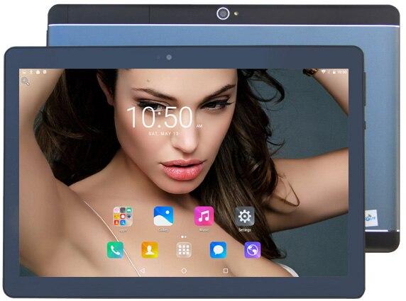2018 Neue 10 Zoll Octa-core 3g Wcdma Tablet Pc 4 Gb Ram 64 Gb Rom 1280*800 Dual Kameras Android 7.0 Tabletten 10,1 Zoll Dhl Freies Geeignet FüR MäNner, Frauen Und Kinder