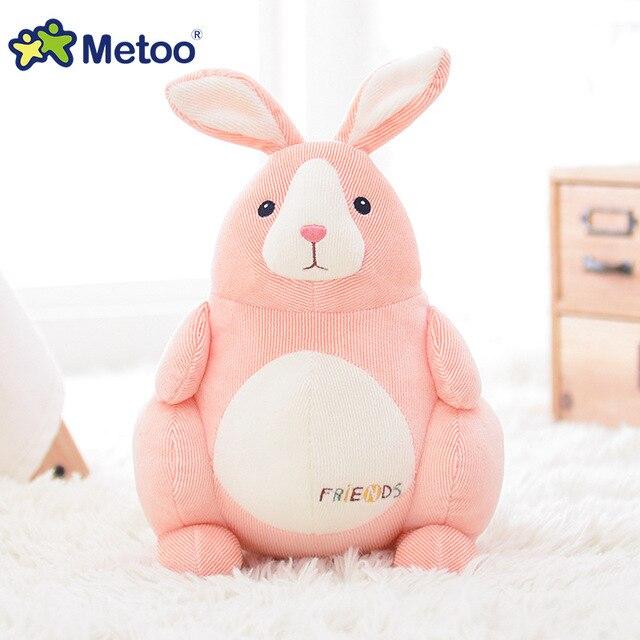 Metoo coke  rabbit dog frog series Baby kawaii plush doll for children lovely animal popular style