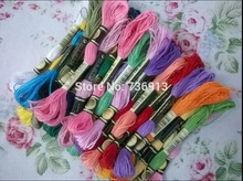 You Can Choose Any Colors Similar DMC 1Lot=2682 Pieces Embroidery Thread Yarn Floss