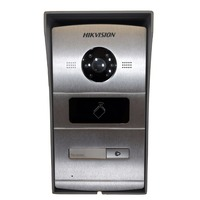 Includes Mounting box,Hikvision DS KV8102 IM ,Multi language Visual intercom doorbell waterproof,IC card,IP intercom
