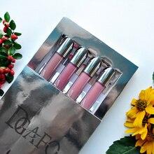 DGAFO New Brand Makeup 4 Colors Matte Lipstick Long Lasting Liquid lipstick Velvet lip gloss 2018 beauty girl