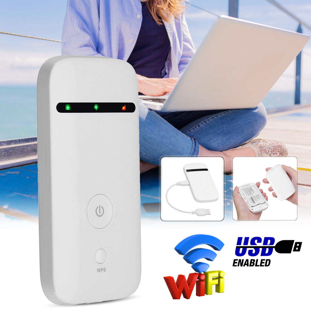 Unlockeds 3G Routers Built-in Antenna 802.11 G/b/n 100Mbs P Ockets WIFI Broadband 3G SIM Card Mifi Router