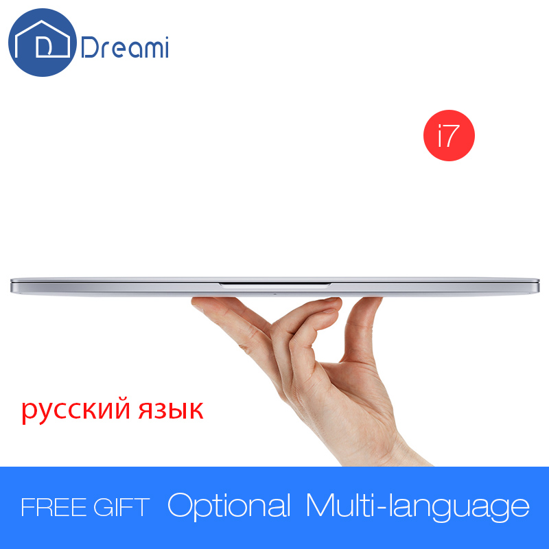 Prix pour Dreami d'origine xiaomi mi portable air 13.3 pro 8 gb ram 256 gb ssd intel core i7-6500u cpu 3.0 ghz ultra-mince ordinateur portable windows 10