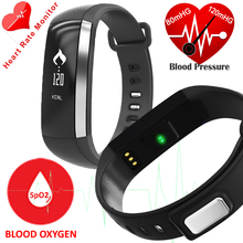 M2 Good Band Coronary heart Fee Blood Strain Oxygen Monitor Bracelet Pedometer Sport Wrist Clock Name/SMS reminder for ios Android