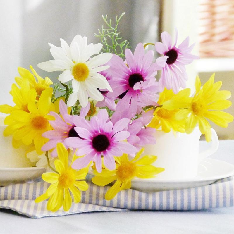 comparer les prix sur plastic daisy flowers - online shopping
