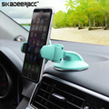 Universal Super Mini Car Windshield Car-styling Mobile Phone Holder For iPhone 5 5s 6s 7 Plus Samsung Mobile Phones GPS DD98