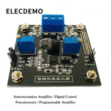 AD623 Module Instrumentation Amplifier Amplifier Module Digitally Controlled Potentiometer MCP41100 Programmable Amplifier цена в Москве и Питере