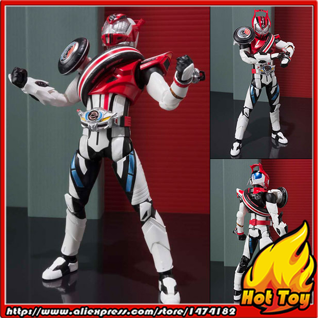 Original BANDAI Tamashii Nations S.H.Figuarts (SHF) Action Figure - Kamen Rider Drive Type Dead Heat from Kamen Rider Drive