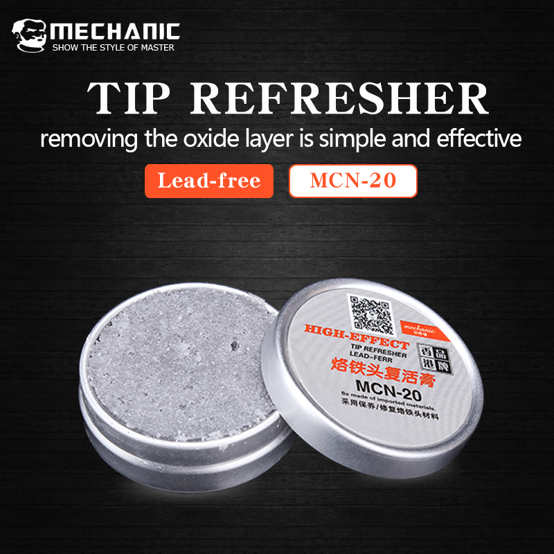 Mechanic Solder Iron Tip Resurrection Cream Cleaning Cream Oxidized Iron Tip Refresher For Tip Head ResurrectionMechanic Solder Iron Tip Resurrection Cream Cleaning Cream Oxidized Iron Tip Refresher For Tip Head Resurrection