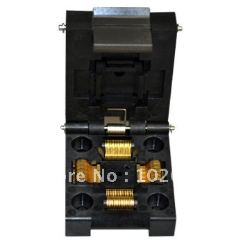 купить 100% NEW IC51-0644 TQFP64 QFP64 LQFP64 IC Test Socket / Programmer Adapter / Burn-in Socket (IC51-0644-807) по цене 2777 рублей