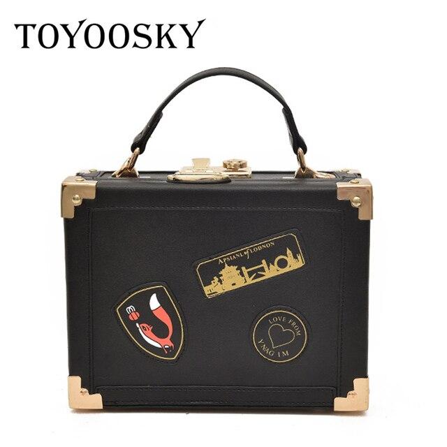 9f136815245b TOYOOSKY Women Bags Designer Box Handbags Female Bolsa Feminina Fashion  Womens Shoulder Bag Luxury Ladies Locks Purse Day Clutch