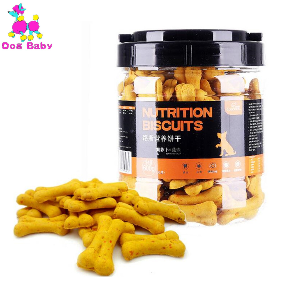 DOGBABY New Dog Food Feeders Oats And Carrot Flavor Pet Snacks Healthy Nutrition Dogs Cookies Clean Teeth Food For Puppy Dogs in Dog Feeding from Home Garden