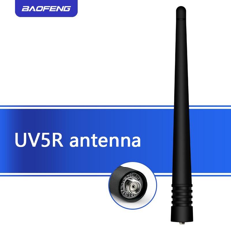 2PCS BAOFENG Original  UV-5R Antenna Dual Band Uhf And Vhf Walkie Talkie ANTENNA SMA-F For BAOFENG UV-5R 5RA  5RE