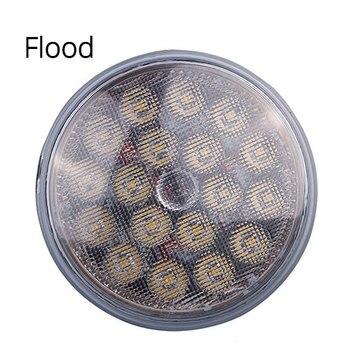TC-X 1 Pièce Par36 LED Travail Lumière Spot Inondation Ronde Voiture Lumières 12 V 24 V Pour Hors Route 4X4 Tracteur Camion ATV Remorques En Gros