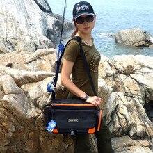 Fishing Bag38*13*24cm Multi-Purpose Fishing Rod Bag Bolsa Pesca Waterproof Fly Fishing Tackle Winter Rod Lure Bags Free Shipping