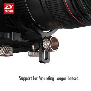 Image 3 - ZHIYUN الرسمية رافعة زائد 3 المحور يده Gimbal استقرار ل المرايا DSLR كاميرا لسوني A7/باناسونيك لوميكس/نيكون J/كانو