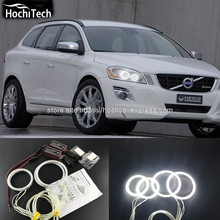 HochiTech Excellent CCFL Angel Eyes Kit Ultra bright headlight illumination for Volvo XC60 S60 09 10 11 2012 2013 with projector