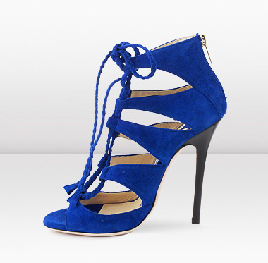 ФОТО 2017 summer high heel sandals super high square heels open toe ankle strap cross-tied alce-up women cutouts casual shoes  blue