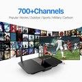 Inteligente Caixa de TV Android Quad Core 2.4 GHz WiFi HDMI USB 2.0 com Livre Árabe Iptv Europa Itália Francês Canais Smart Set Top caixa