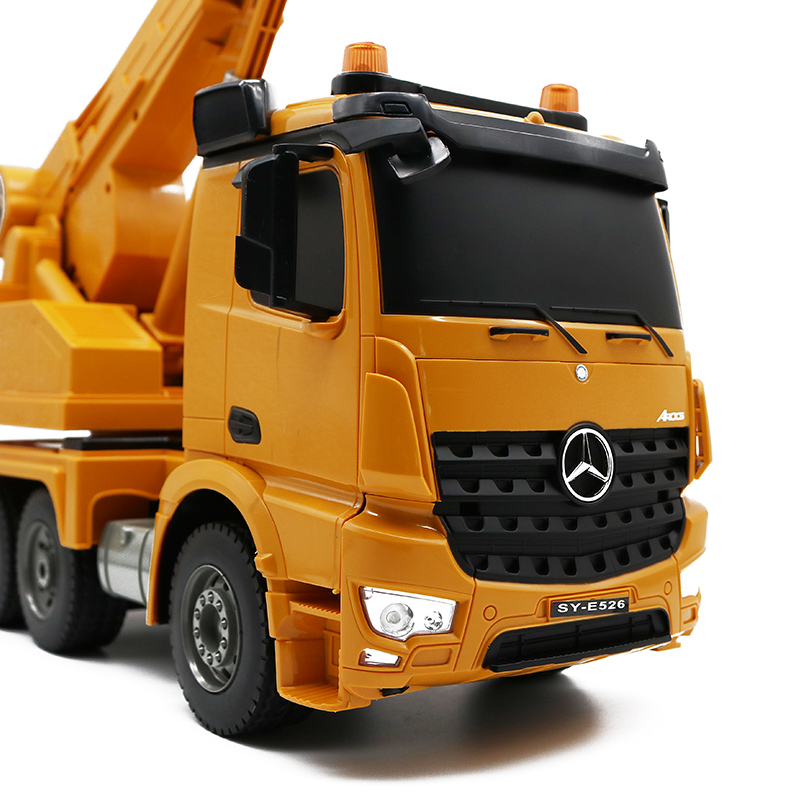 Remote Control Toys Rc Cars Rc Car 2.4g Rc Mixer Truck 1:16 Concrete Mixing Unloading Remote Control Trucks Mercedes Engineering Vehicles Toys For Kids