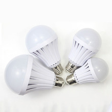 LED Emergency Light Bulb Emergency Bulb Automatic Charging Rechargeable Battery E27 Lamp 5/7/9/12W