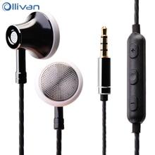 Ollivan MS16 In Ear Auricolare 3.5mm Auricolari Sport Corsa e Jogging Auricolare Con Microfono a Filo Auricolari di Controllo Per Il Telefono/PC /Tablet