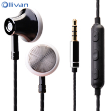 Ollivan MS16 In Ear Earphone 3.5mm Earbuds Sports Running Headset With Microphone Wire Control Earphones For Phone / PC / Tablet