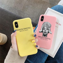 Beyonce powrót do domu na żywo ALBUM etui dla iPhone X 7 Plus XS 10 etui na telefon pokrywa dla iPhone 6 S 8 6 Plus XS Max(China)