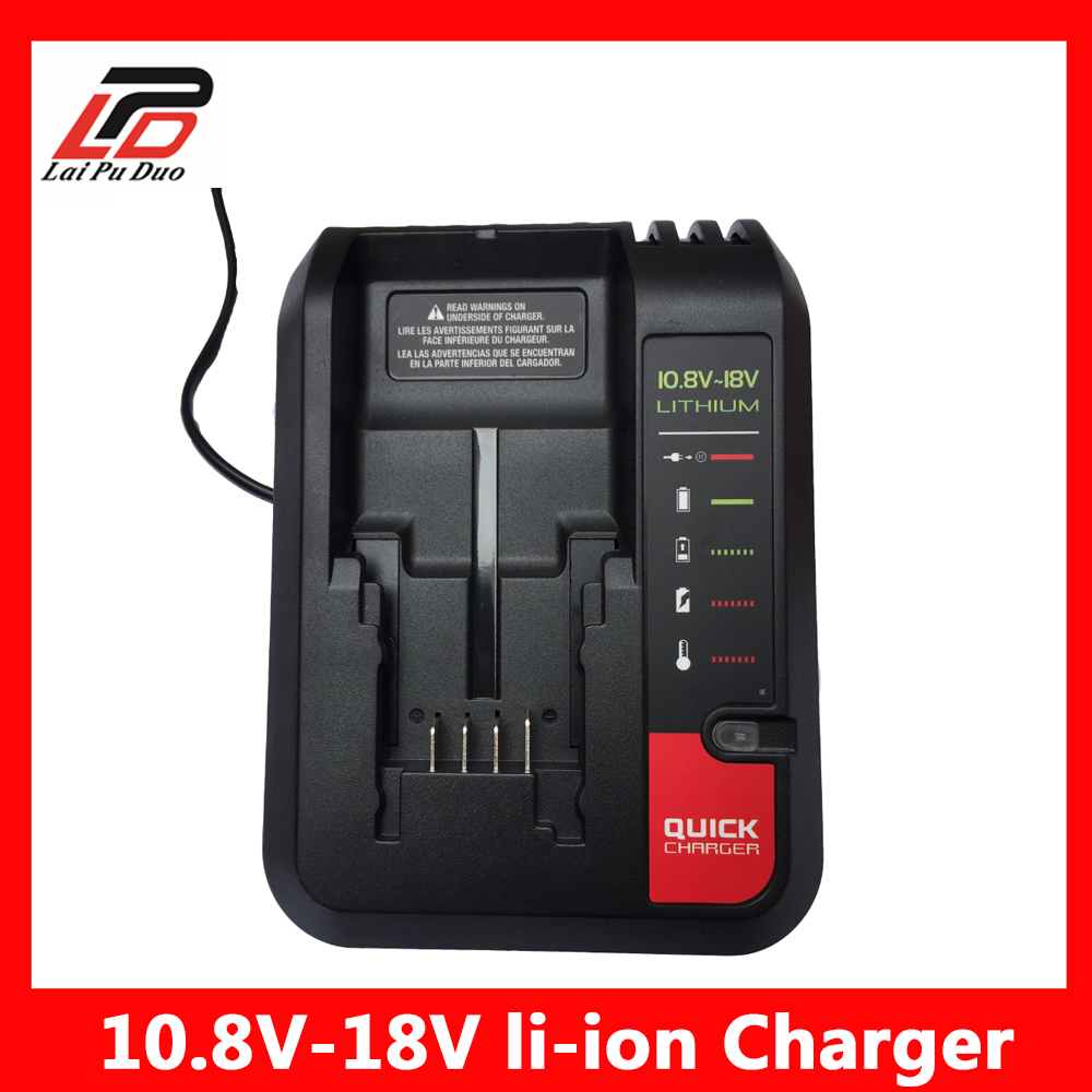 Replacement Battery Charger 10.8V-20V Li-ion Battery PCC692L LB20 LBXR20 For Black Decker For Stanley For Porter-cable цена 2017