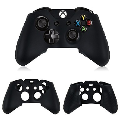 2 pcs Black Durable Silicone Gamepad Protective Cover Skin Case For Microsoft XBOX ONE