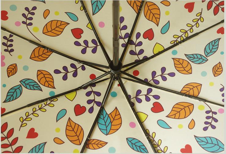 b89406ab56ec Fully Automatic Cartoon Women Umbrellas Rain Owl 3 Folding Outdoor Animal  Windproof Umbrella Rain Gear Parasol Free Shipping - us297