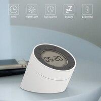 Digital Alarm Clock LED Night Light Lamp Alarm Clock For Kids Student Clock With Smart Backlight