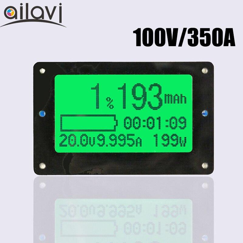 100 V 350a Batteria Coulometer Tf02 Coulomb Contatore Universale Capacità Della Batteria Tester Per Camper