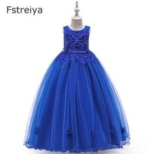 Girls princess dress Fstreiya summer 2019 kids dresses for girl cinderella dress for lol party costume children belle clothes недорого