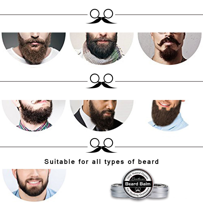 Beard Balm Natural Organic Treatment for Beard Growth Grooming Care Aid 30g 2018 in Styling Aftershave For Men 88 WH998 4