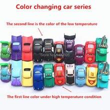 Новый Pixar Автомобили изменение цвета автомобилей Свободные Редкие Игрушки 1:55 изменение Цвета DJ изменение Цвета Сопли Стержень изменение Цвета Реймон