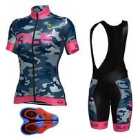 PINK Pro Summer Women S Short Sleeve Cycling Jersey Bib Shorts Gel Pad Bike Bicycle Clothing