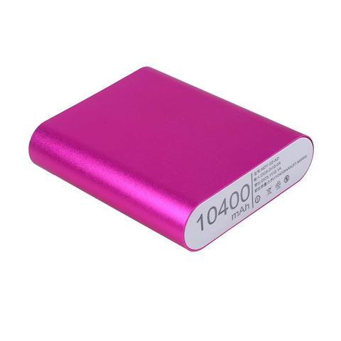 Aluminum Alloy Fast Charging Mobile Power Bank Case Battery Charger Shell for Outdoor Mobile Phones Emergency Charging Portable Lahore