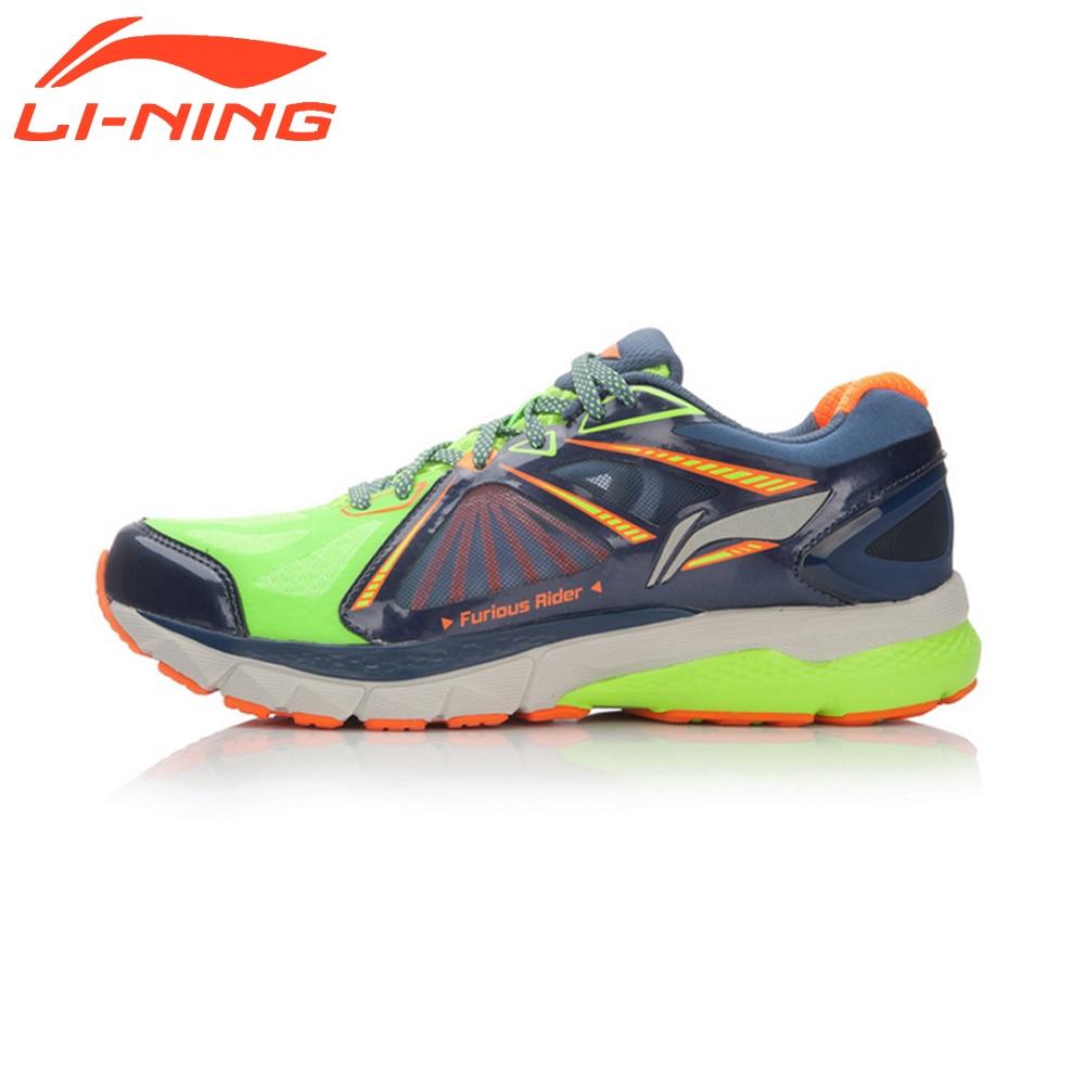 Li-Ning Brand Men Smart Cushion Running Shoes Furious Rider TUFF OS Stability Sneakers PROBARLOC Sports LiNing Shoes ARHL043 original li ning men professional basketball shoes