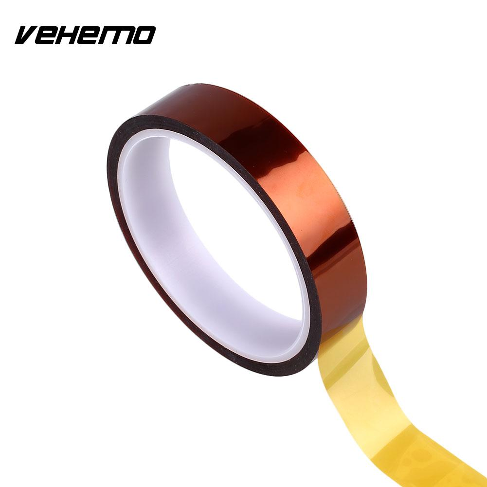 Useful Brown 20mm X 33.0m Heatproof Polyimide Adhesive Tape For Automobile