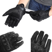 Knight Protective Gear Biker Carbon Fiber Bike Motorcycle Motorbike moto Breathable Mesh Fabric Racing Cycling Gloves