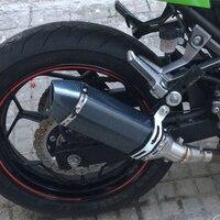 #E602 Motorcycle Exhaust For KAWASAKI VERSYS 650 CBR1000RR EXHAUST HONDA NC 700 S1000XR ACERBIS ESCAPE Z900 TMAX MOTO GUZZI
