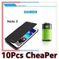 De alta capacidad de 4200 mah teléfono celular casos cubierta del tirón del caso del cargador de batería del banco de potencia para samsung galaxy note 3 note3 n9000