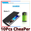 High-capacity 4200mAH cell phone cases Flip Cover Power bank Battery Charger Case For Samsung Galaxy Note 3 Note3 N9000