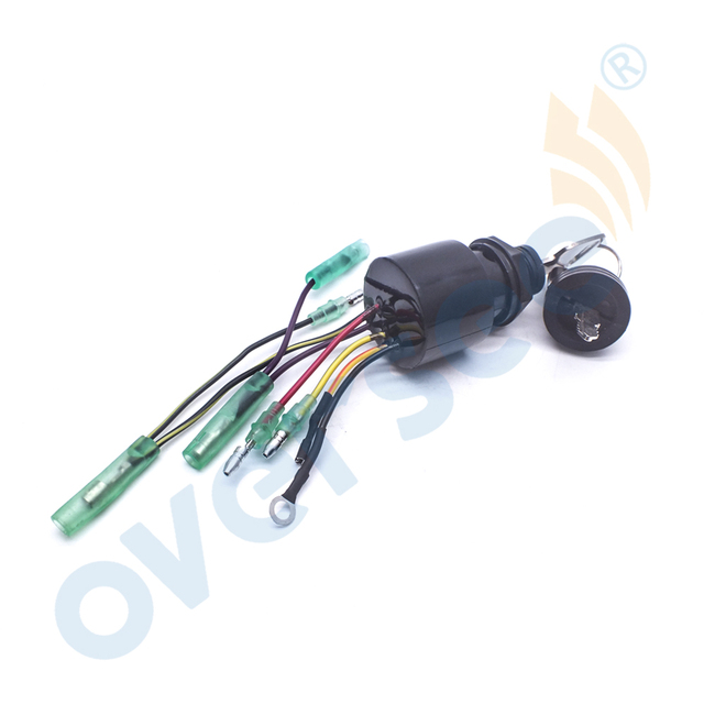 87 17009a5 ignition key switch for mercury 3 position magneto off