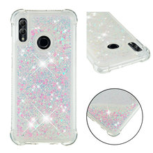XINGDUO Glitter Love Sequins Liquid Quicksand  case for Huawei Honor 10 Lite P30 PRO Mate 20 Pro P20 Llie