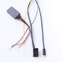 Biurlink Bluetooth Module AUX Cable Adapter Audio 12Pin Rear Port For BMW X5 X3 Z4 E83 E85 E86 E39 E53 for iPhone 7 8 X