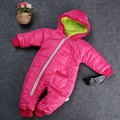 Warm Winter Newest 2016 Baby Girl Boy Kids Hooded Toddler Snowsuit Coat Jacket Outwear Clothes Snow Wear